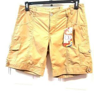 OP 11 Tan 100%Cotton Cargo Hiking Bermuda Shorts